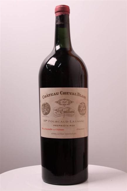 Cheval Blanc 1947, um vinho mítico, presença garantida no imaginário de todos os enofilos e das listas dos melhores vinhos de todos os tempos