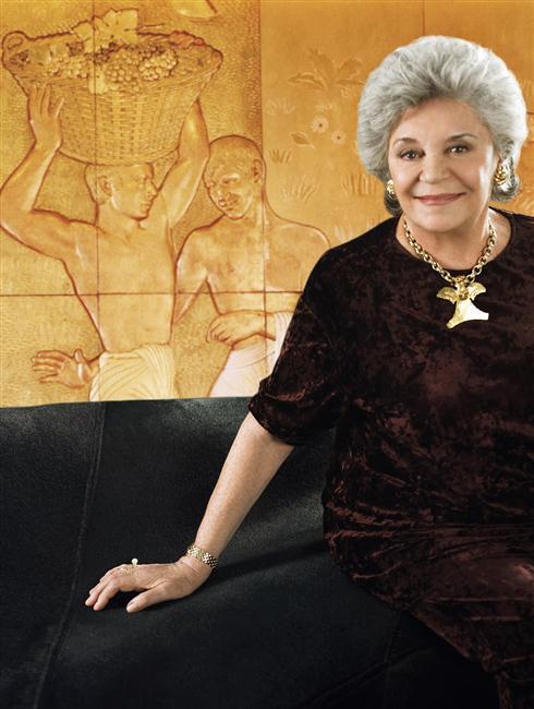 A Baronesa Philippine de Rothschild, falecida em 2014, escolheu pessoalmente a ilustração do rótulo de 2012