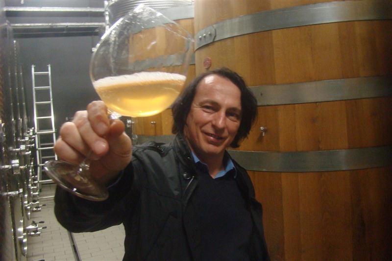 Marjan Simčič, um dos mais criativos produtores de Vinhos Laranja