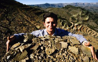 Álvaro Palacios, o mago do Priorato, que extrai seus vinhos dos solos de Licorella (ardósia e quartzo), é um dos defensores do conceito de mineralidade em vinhos tintos