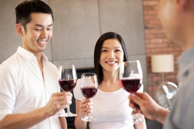 No mercado chinês a cor mais escura de um vinho está associada à mais qualidade...