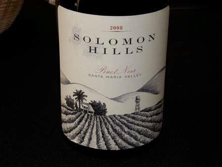 Solomon Hills Pinot Noir, um ícone da Califórnia