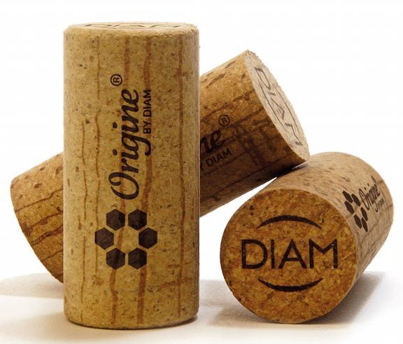 A Origine, a nova rolha da DIAM, usa materiais naturais