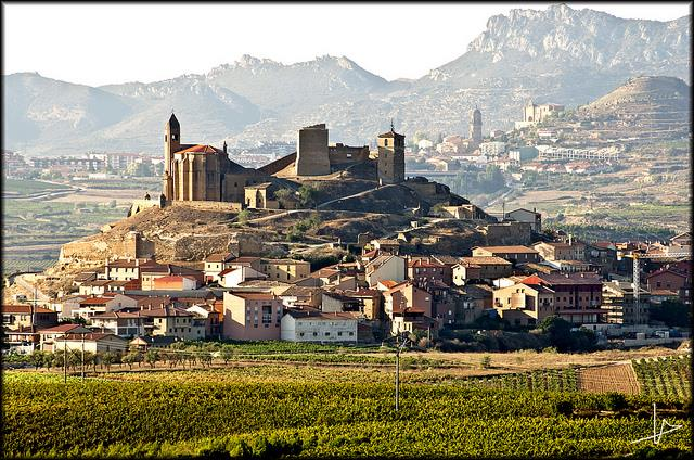 San Vicente de La Sonsierra, área nobre de Rioja, que agora poderá figurar nos rótulos