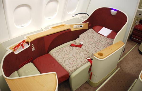First Class TAM, elegância, sofisticação e conforto total