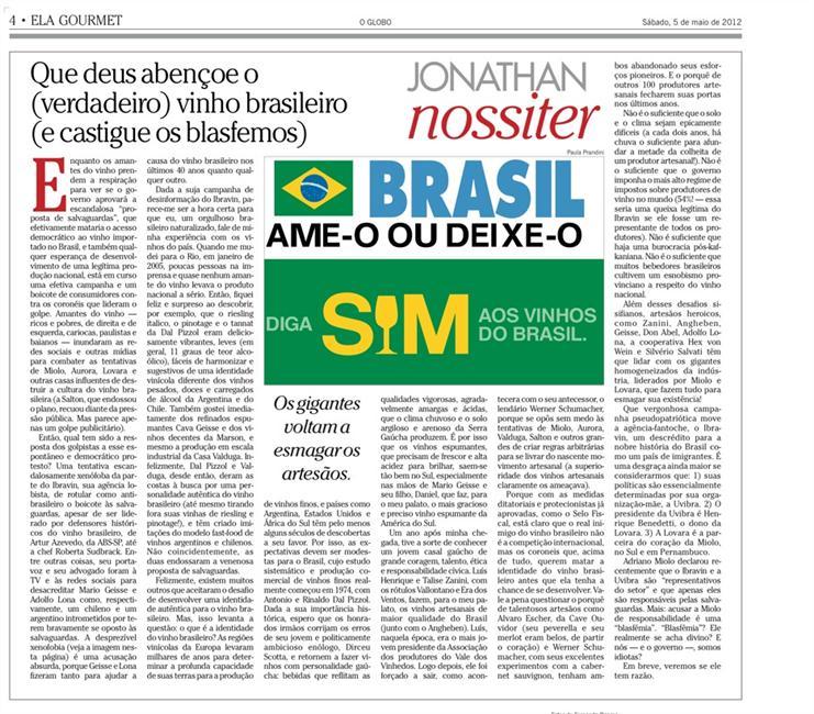 Imagem do artigo original em O Globo