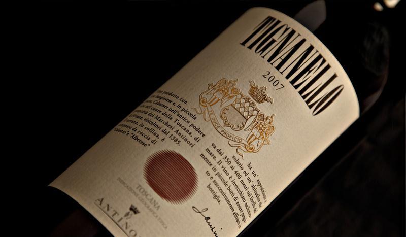 Tignanello é uma das grandes estrelas do catálogo da Winebrands e uma das atrações do Winelounge