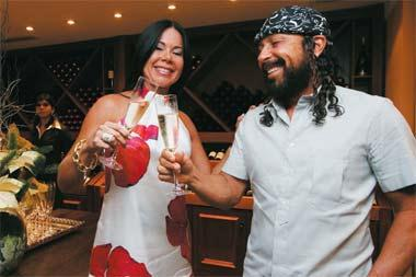 O simpático casal Ana e Bel Marques são os proprietários da Ana Import, uma empresa que vem se destacando no cenário dos vinhos no Brasil