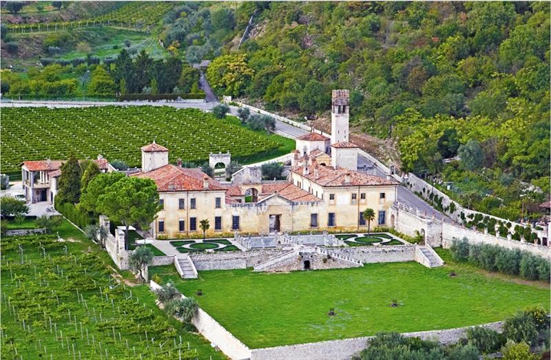 Villa della Torre, uma das propriedades da Allegrini