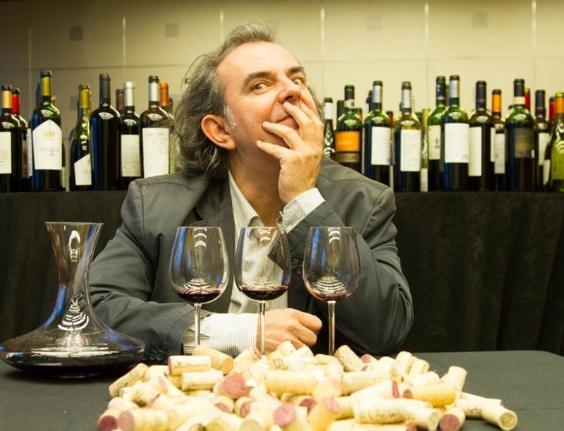 Luis Gutiérrez, da revista The Wine Advocate - do crítico Robert Parker -, vem ao país exclusivamente para ministrar palestra no Fórum ExpoVinis